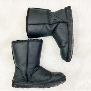 UGG Essential Short Smooth Leather Boots